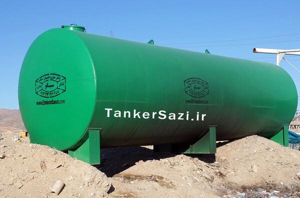 تانکر گازوئیل